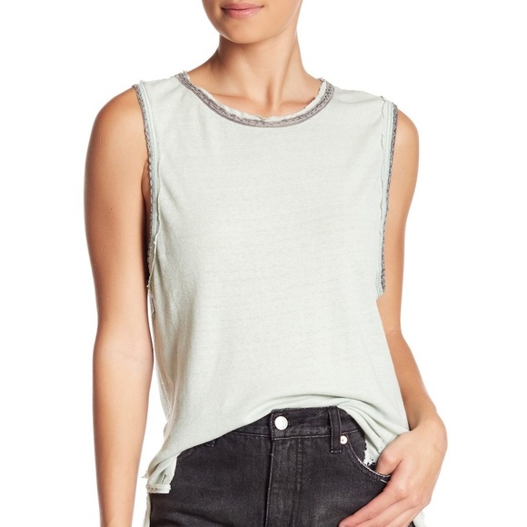 Free People Tops - NWT Free People Vintage Ringer Muscle Tank